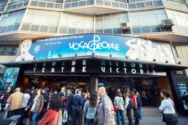 Estreno de Voca People en el Teatre Victòria BCN