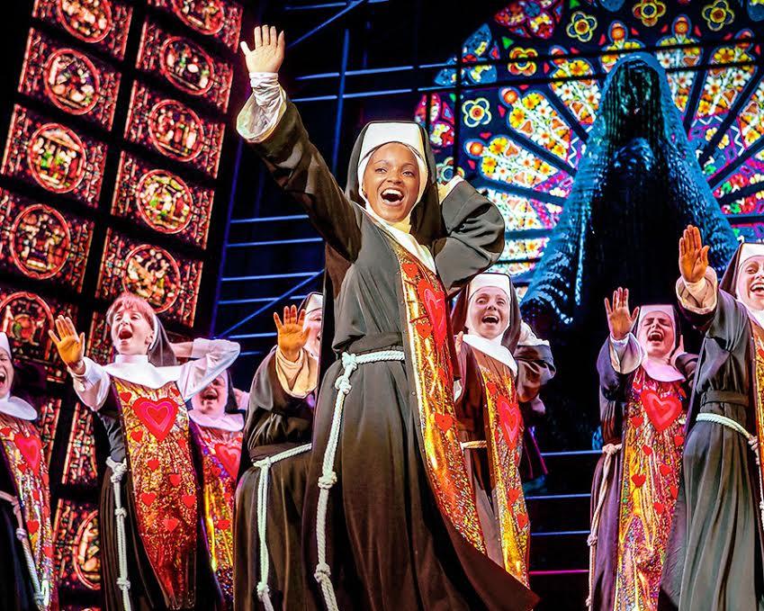 Foto de la web oficial de Sister Act el Musical