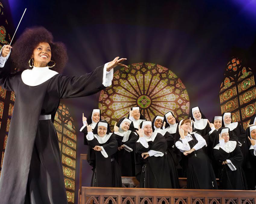 Foto de la web oficial del musical Sister Act