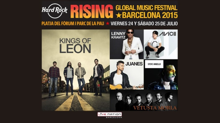 hard rock rising bcn